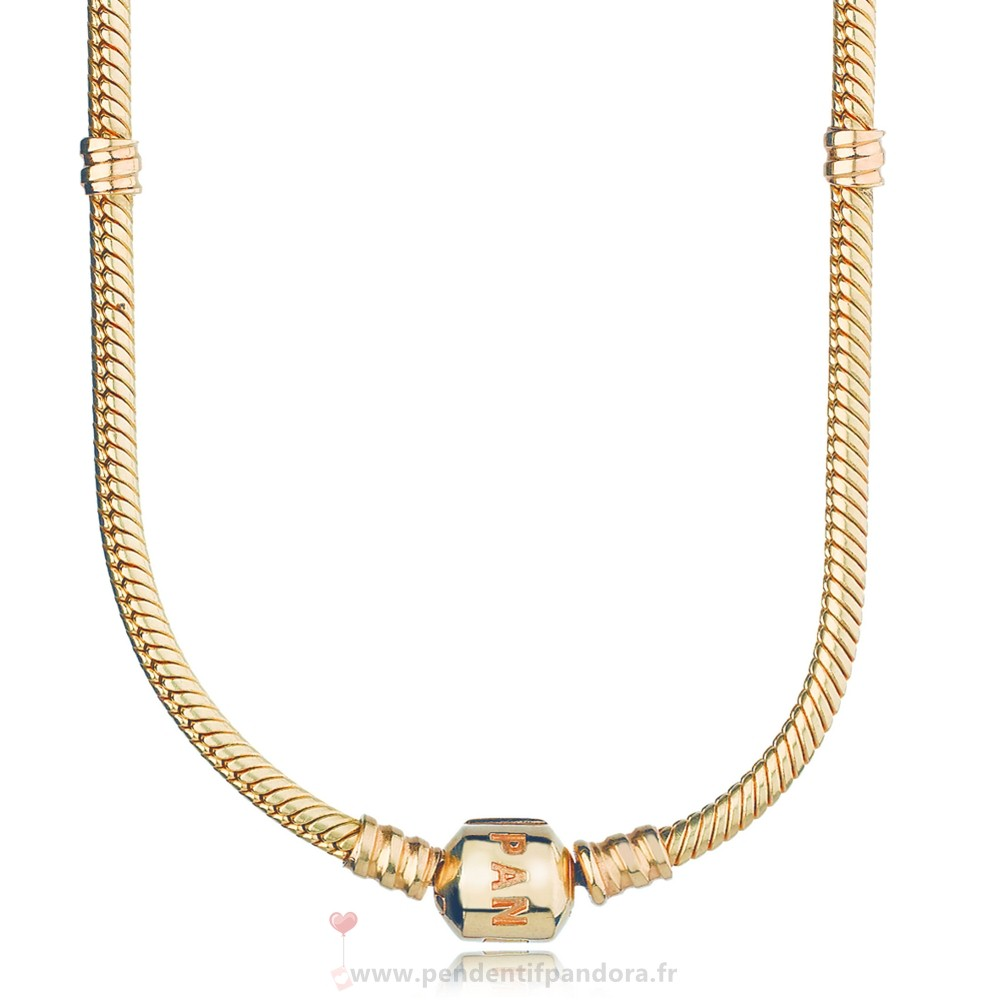 Complet Pandora Pandora Collections 14K Collier A Breloques En Or