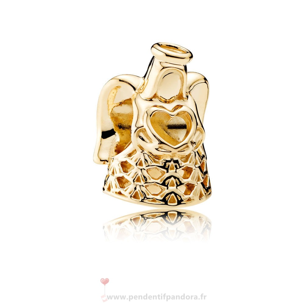 Complet Pandora Pandora Collections Ange De Grace Charme 14K Or