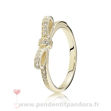 Complet Pandora Pandora Collections Bague Etincelante Clear Cz 14K Or