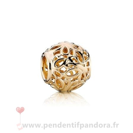 Complet Pandora Pandora Collections Breloque Papillon Jardin 14K Or