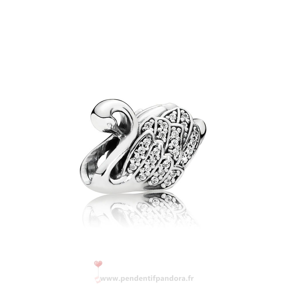 Complet Pandora Majestic Swan Charm