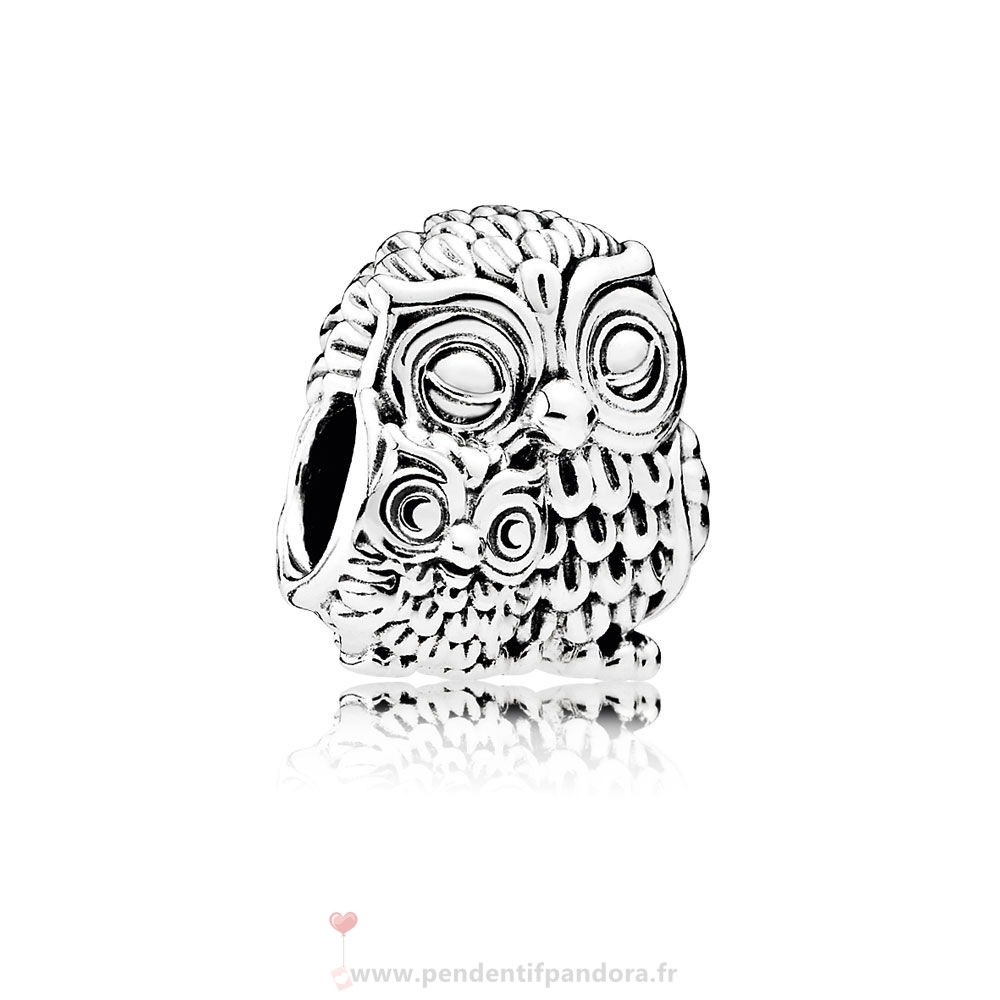 Complet Pandora Pandora Animaux Charms Charming Owls Charm