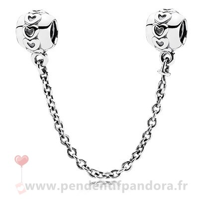 Complet Pandora Pandora Chaines De Securite Amour Connection Safety Chain