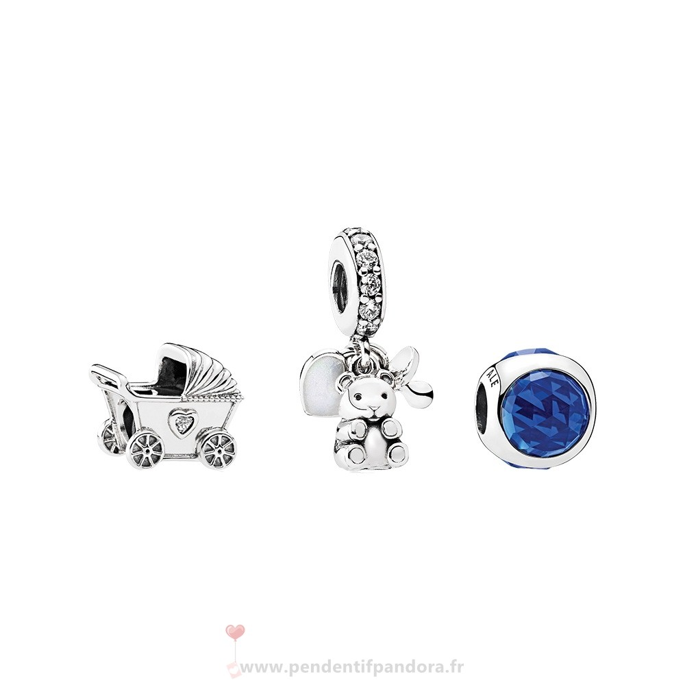 Complet Pandora Bebe Garcon Charm Pack