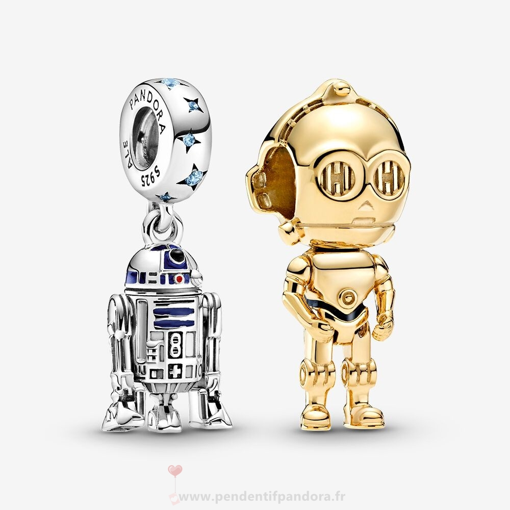Complet Pandora Disney Star Wars Droid Charm Pack