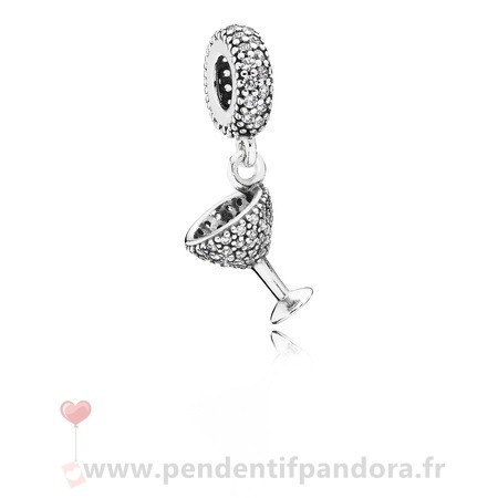Complet Pandora Pandora Passions Charms Chic Charme Nuit Dangle Charm Clear Cz