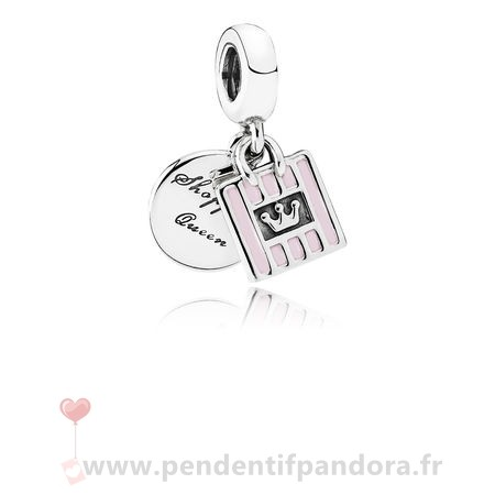 Complet Pandora Pandora Passions Charms Chic Glamour Achats Queen Dangle Charm Soft Rose Email