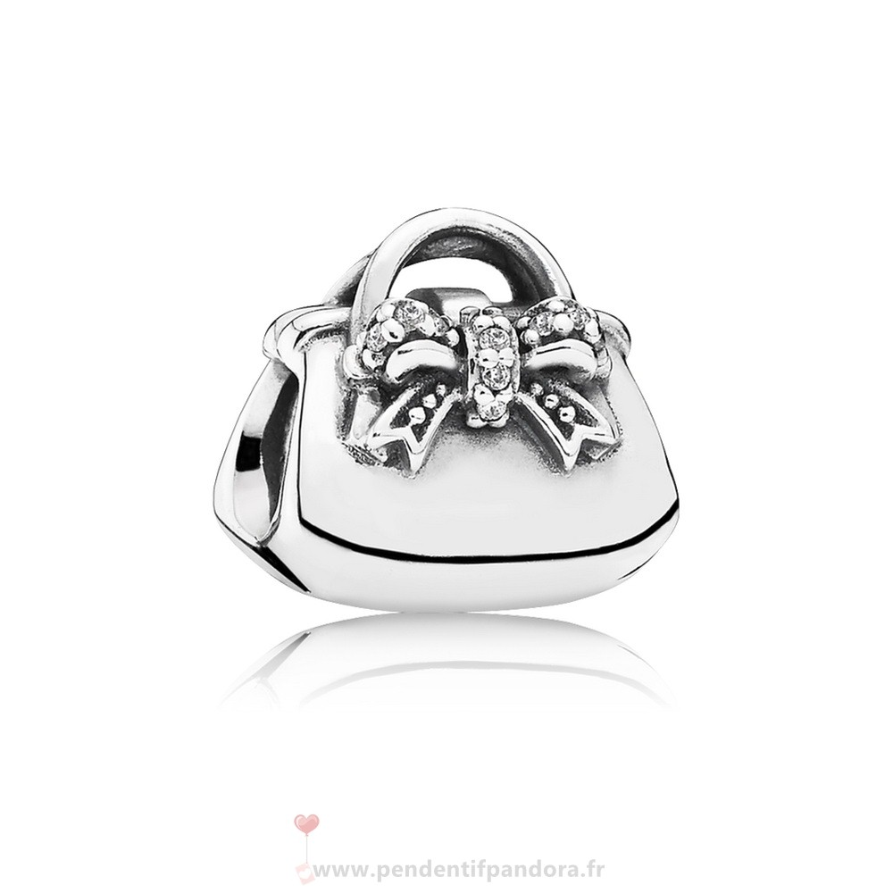 Complet Pandora Passions Charms Chic Charmant Sac A Main Clear Cz