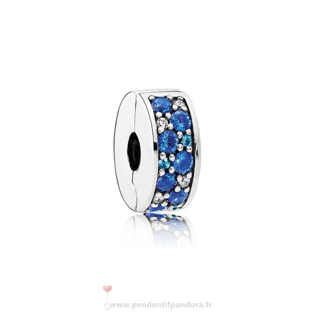 Complet Pandora Pandora Charms De Couleur Mosaique Brillant Elegance Clip Multi Coloured Crystals Clear Cz