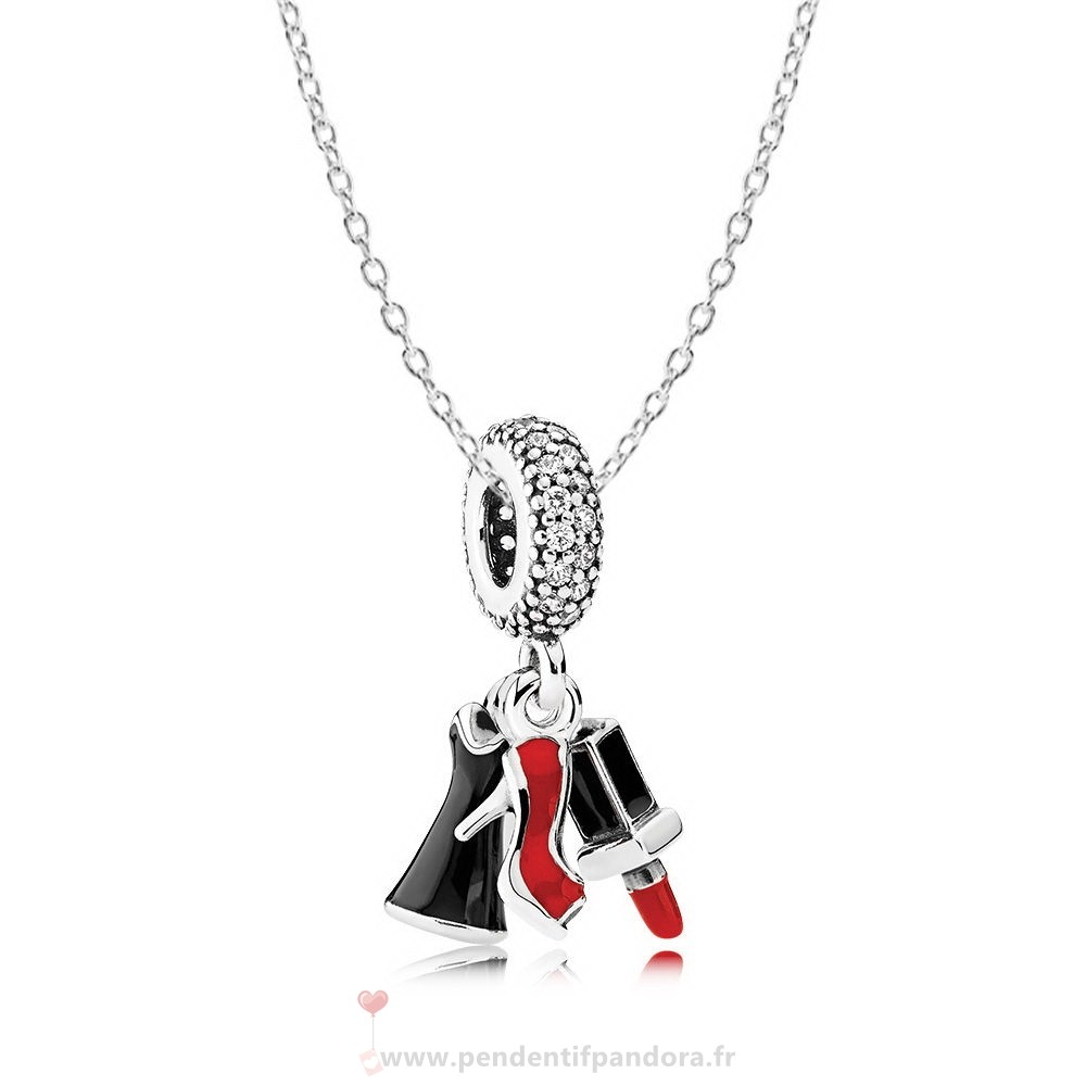 Complet Pandora Filles Night Out Collier