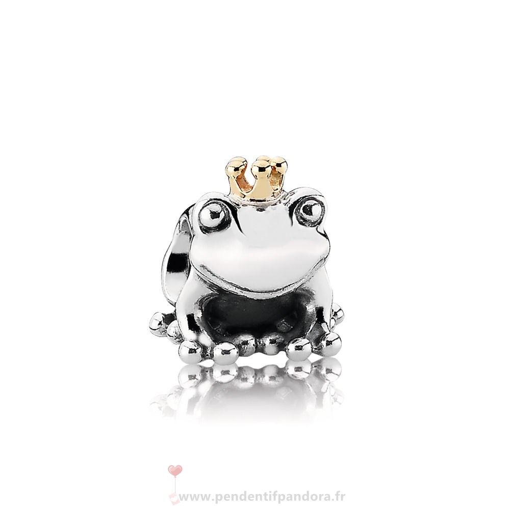 Complet Pandora Disney Charm Prince Grenouille