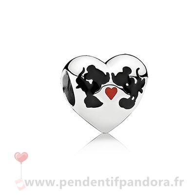 Complet Pandora Disney Minnie Mickey Kiss Charm Mixed Email