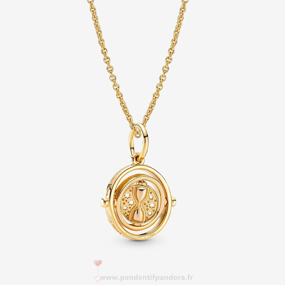 Complet Pandora Harry Potter Time Turner Colliers Ensemble