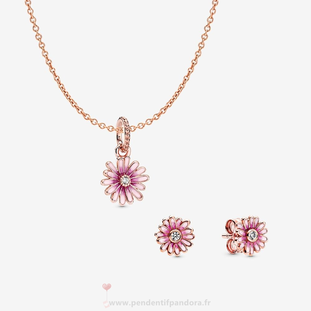 Complet Pandora Pandora Rose Ensemble Marguerite Rose