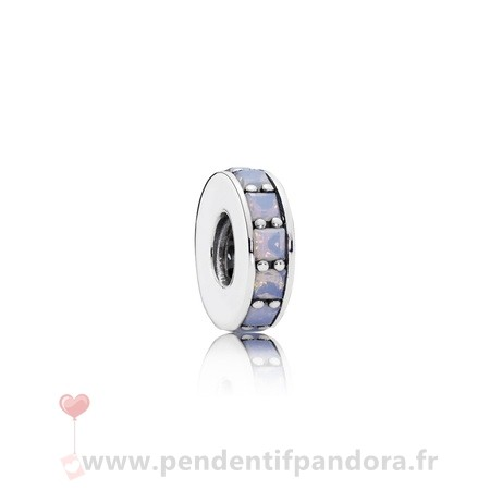 Complet Pandora Pandora Entretoises Charms Eternity Spacer Opalescent Blanc Crystal