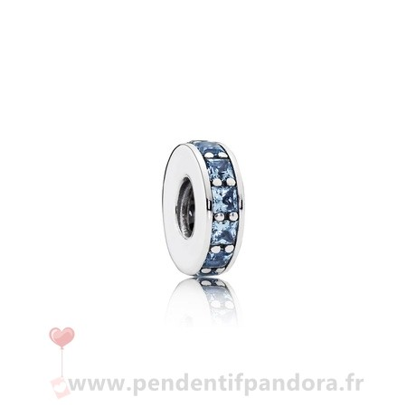 Complet Pandora Pandora Espaceurs Charms Eternity Spacer Sky Blue Crystal