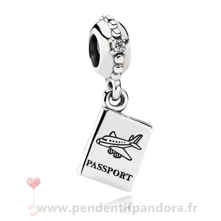 Complet Pandora Pandora Vacances Charms De Voyage Aventure Awaits Dangle Charm Clear Cz