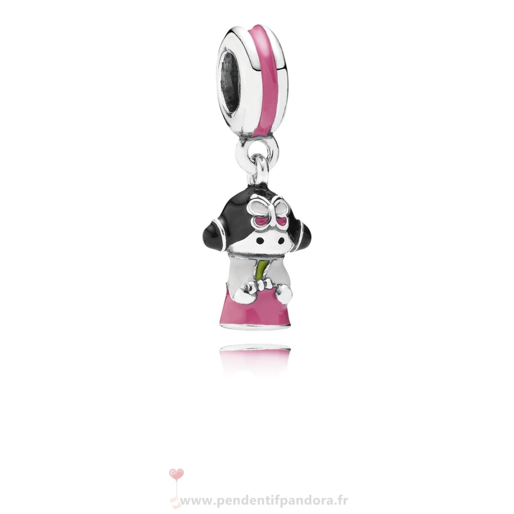 Complet Pandora Pandora Vacances Charms De Voyage Coreen Doll Dangle Charm Mixed Enamel