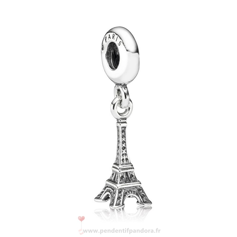 Complet Pandora Pandora Vacances Charms De Voyage Tour Eiffel Dangle Charm