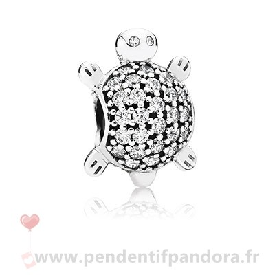 Complet Pandora Pandora Passions Charms Nautique Mer Tortue Charme Clear Cz