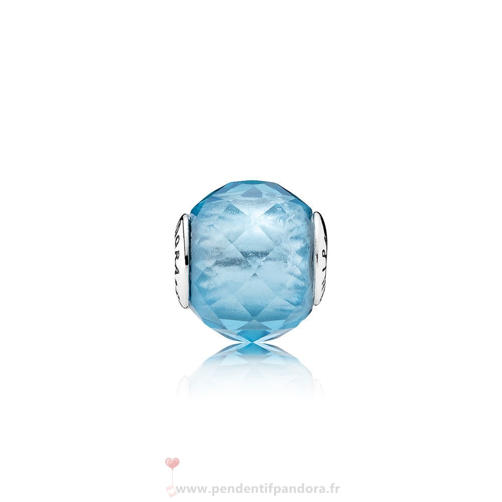 Complet Pandora Essence Relation Amicale Charme Sky Blue Crystal