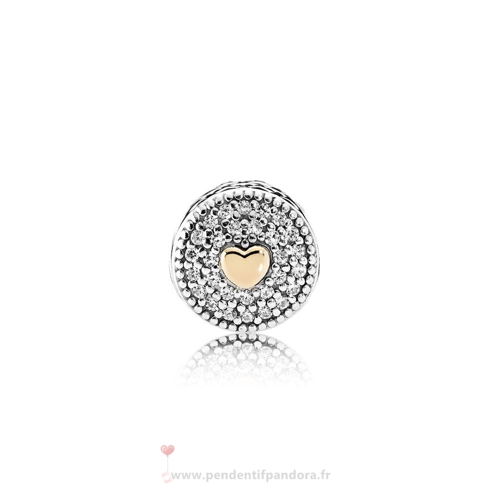 Complet Pandora Essence Affection Charme Clear Cz Prix