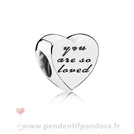 Complet Pandora Famille Charms Vous Etes Si Aime Charme