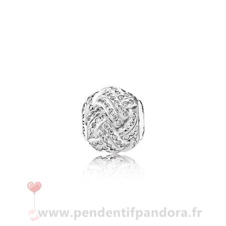 Complet Pandora Essence Friendship Charme Clear Cz